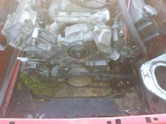 ZPJ with alternator and powersteering installed