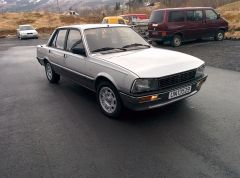 Robin's 1985 Peugeot 505 Turbo Injection