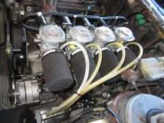 XN6 with Hitachi carbs left side